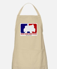 Major League Couch Potato BBQ Apron