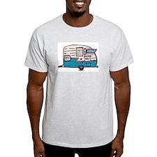Shasta Flyte Vintage Travel Trailer T-Shirt