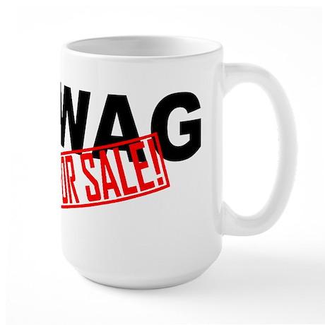 Swag for sale Stamp Large Mug