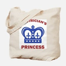 Electrician's Princess Tote Bag