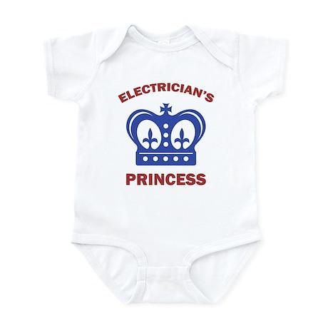Electrician's Princess Infant Bodysuit