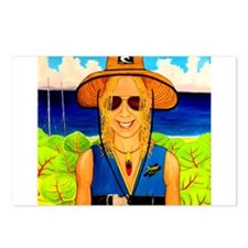 Delray Beach Kayaker Postcards (Package of 8)