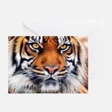 Male Siberian Tiger Greeting Cards (Pk of 10)
