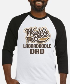 Labradoodle Dog Dad Baseball Jersey