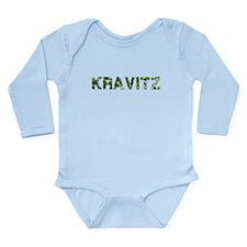 Kravitz, Vintage Camo, Long Sleeve Infant Bodysuit