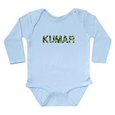 Kumar, Vintage Camo, Long Sleeve Infant Bodysuit