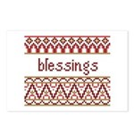 Blessings 6 Postcards (Package of 8)