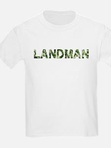 Landman, Vintage Camo, T-Shirt