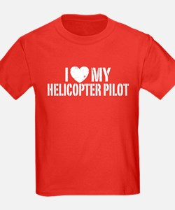 I Love My Helicopter Pilot T
