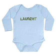 Laurent, Vintage Camo, Long Sleeve Infant Bodysuit