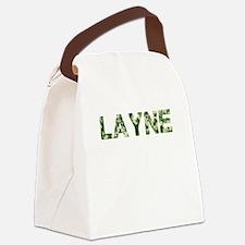Layne, Vintage Camo, Canvas Lunch Bag
