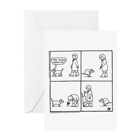 In The Park - Greeting Card