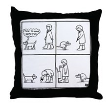 In The Park - Throw Pillow