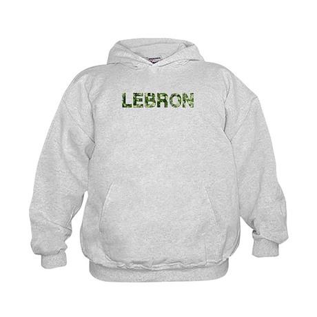 Lebron, Vintage Camo, Kids Hoodie