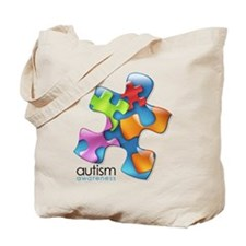 Cool Autism support Tote Bag