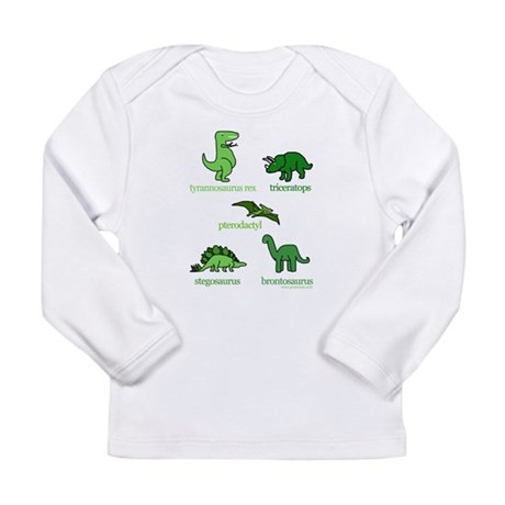 5dinos_www.jpg Long Sleeve T-Shirt