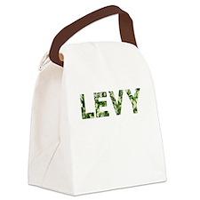 Levy, Vintage Camo, Canvas Lunch Bag