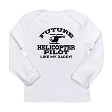 Future Helicopter Pilot Long Sleeve Infant T-Shirt