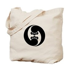 Right, two clove swirls Tote Bag