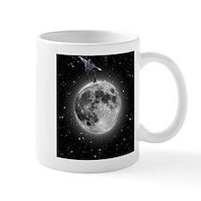 """Skating on the moon"" Mug"