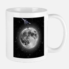 """Skating on the moon"" Mug"