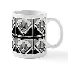 Art Deco Geometric Small Mugs