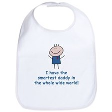 Smartest Daddy Bib
