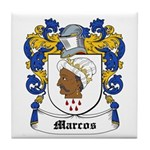 Marcos Coat of Arms Tile Coaster