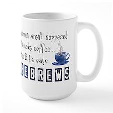The Bible Says Hebrews Mugs