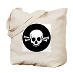 Skull & Crossbones Trick or Treat Bag