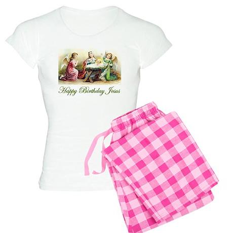 Happy Birthday Jesus Women's Light Pajamas