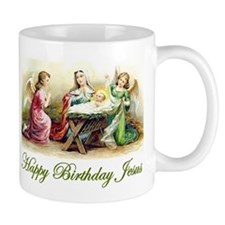 Happy Birthday Jesus Small Mug