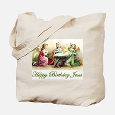 Happy Birthday Jesus Tote Bag