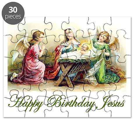 Happy Birthday Jesus Puzzle