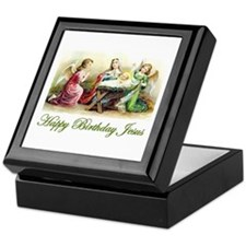 Happy Birthday Jesus Keepsake Box