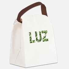 Luz, Vintage Camo, Canvas Lunch Bag