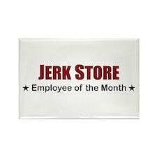 Jerk Store Rectangle Magnet