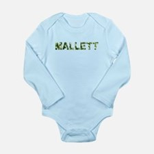 Mallett, Vintage Camo, Long Sleeve Infant Bodysuit