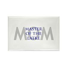 MOM MASTER OF LATKE Rectangle Magnet