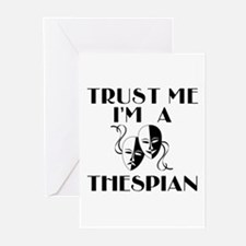 Trust Me I'm a Thespian Greeting Cards (Pk of 10)