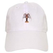 Spiny Lobster - Rock Lobster Logo Baseball Cap