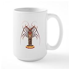 Spiny Lobster - Rock Lobster Logo Mug