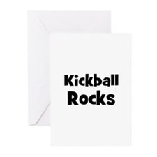 KICKBALL Rocks Greeting Cards (Pk of 10)
