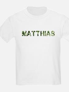 Matthias, Vintage Camo, T-Shirt