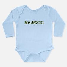 Mauricio, Vintage Camo, Long Sleeve Infant Bodysui