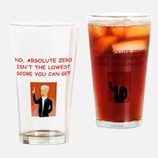 absolute zero Drinking Glass