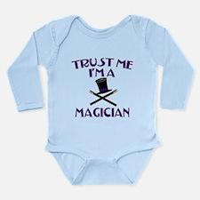 Trust Me I'm a Magician Long Sleeve Infant Bodysui