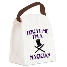 Trust Me I'm a Magician Canvas Lunch Bag