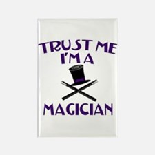 Trust Me I'm a Magician Rectangle Magnet