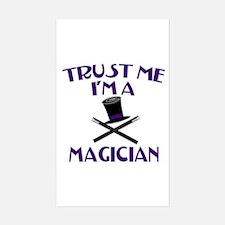 Trust Me I'm a Magician Sticker (Rectangle)